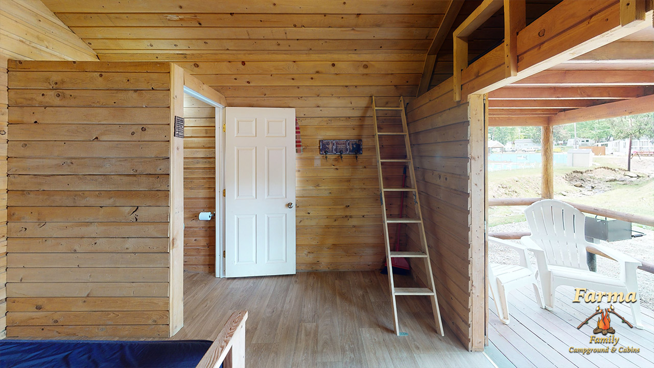 Primitive Cabin 1 (Sleeps 4) Image # 1