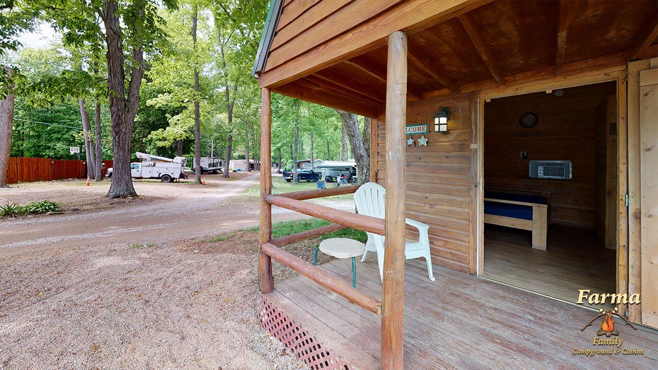 Primitive Cabin 1 (Sleeps 4) Image # 4
