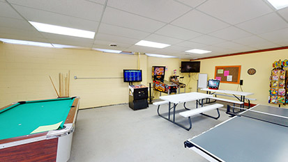 Rec Hall & Arcade