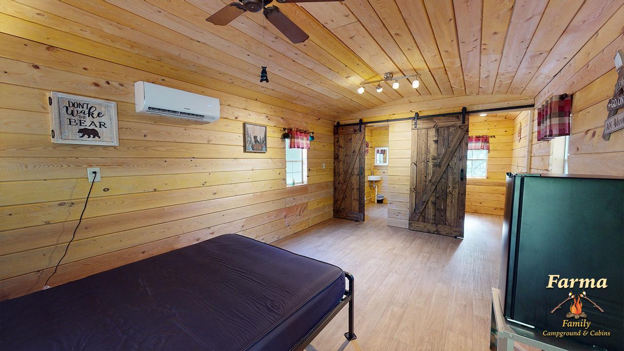 Primitive Cabin 1 (Sleeps 4) Image # 3